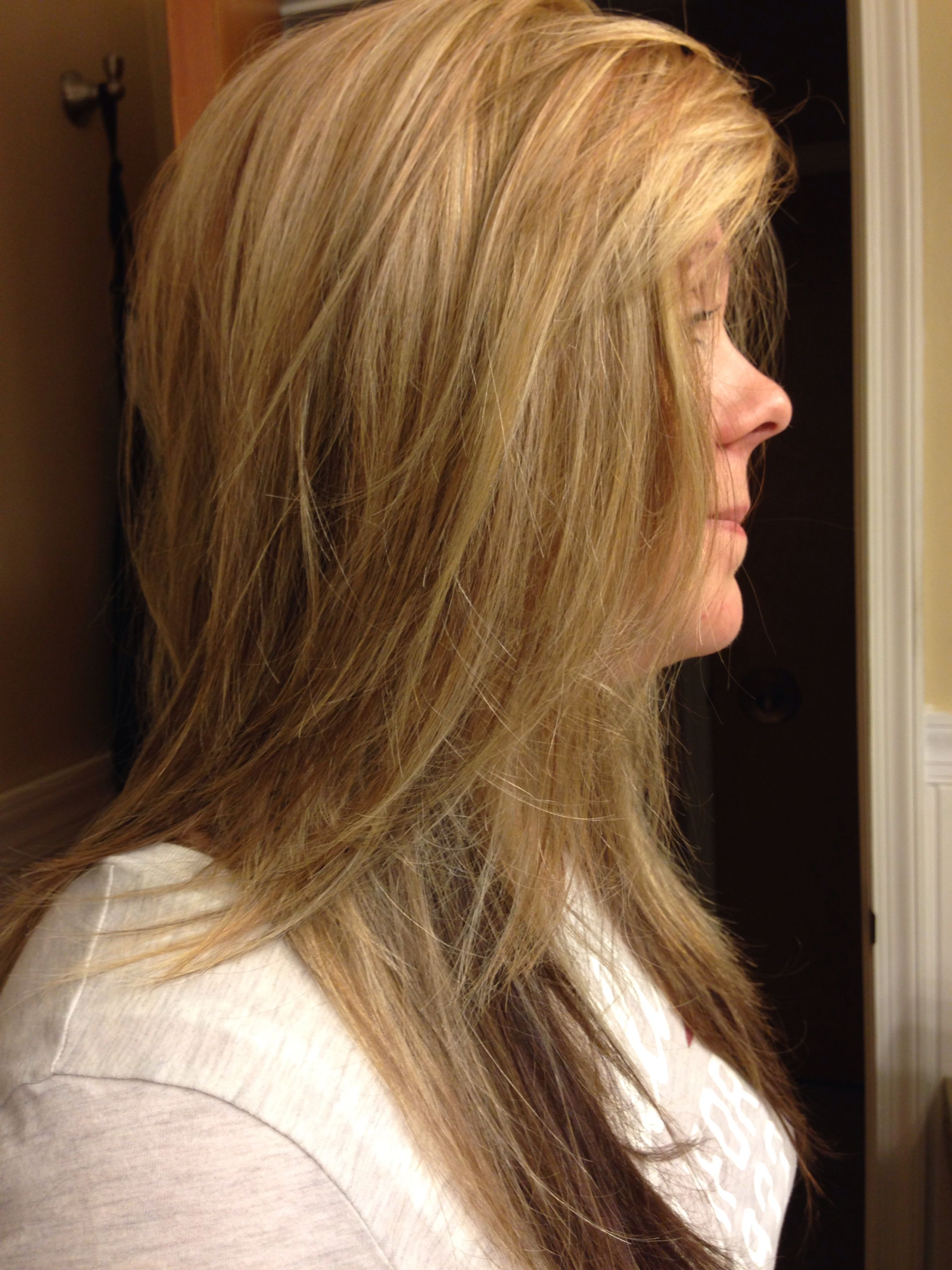 Pretty 3 dimensional beige blondes