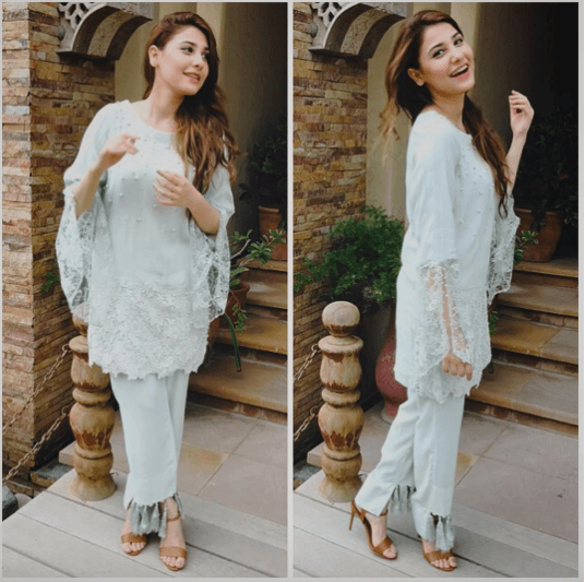99b57765a2 20 Classy Outfits for Pakistani Girls with Short Height | Kurtis ...