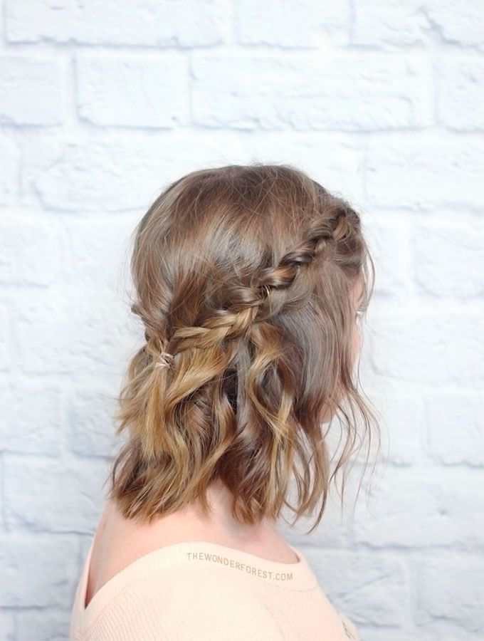 Messy Braided Crown For Shorter Hair Tutorial War Paint Mane