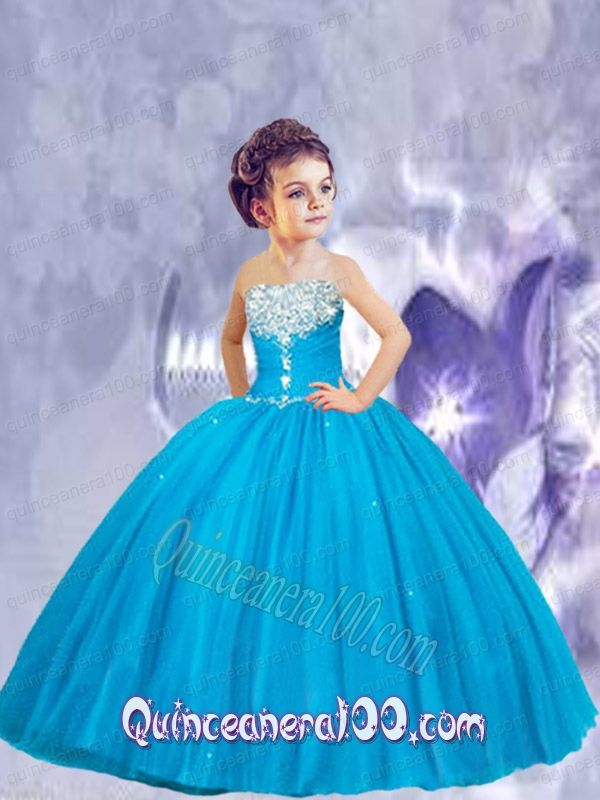 royal color little girl pageant gowns - Google Search   Fashion ...