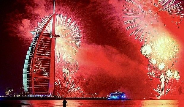 New Years Eve celebrations in Dubai
