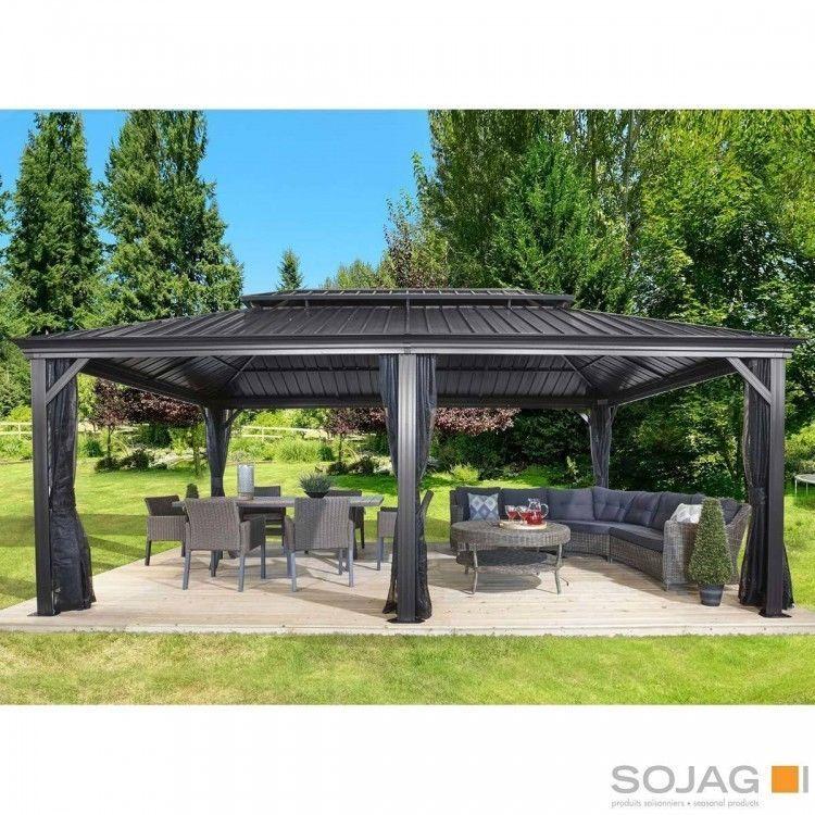 20 X 12 Hardtop Gazebo Metal Aluminum Outdoor Netting For Patio Furniture Sets Ebay Amazon Sale Backyard Pavilion Patio Gazebo Backyard Gazebo