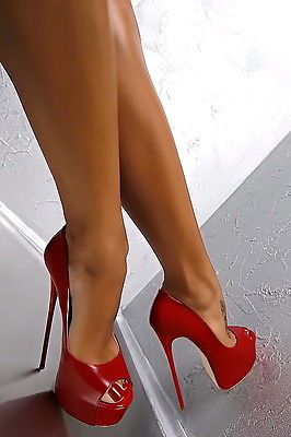 Scarpe DA DONNA PUMPS Lusso Sexy Tacco Alto Stiletto sty5 Nero Grigio 36