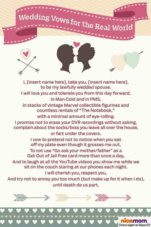 Take A Look At 7 Realistic Wedding Vows For The Modern Bride And Groom In Photos Below Get Ideas Your Beautiful Image