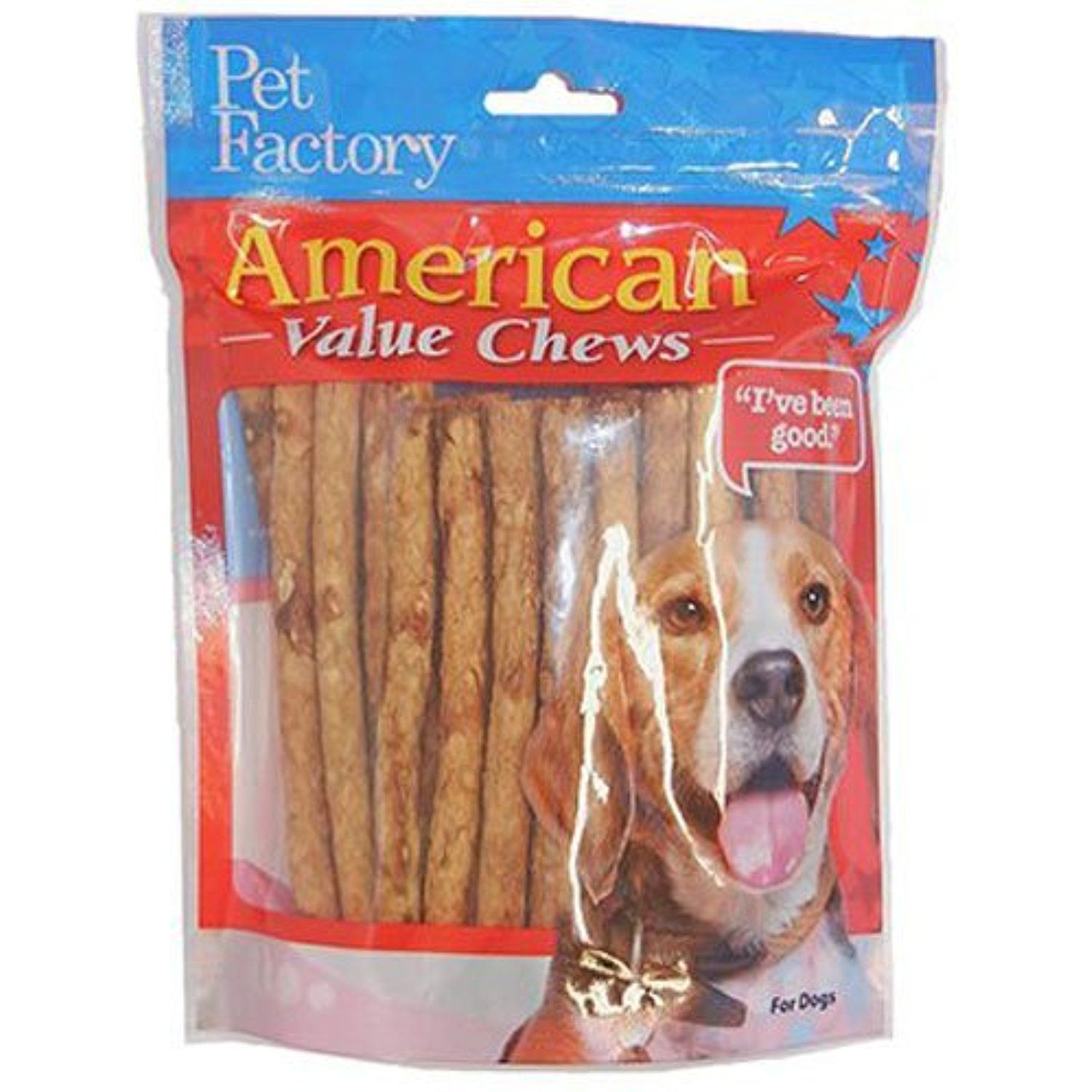 Pet Factory 28750 Chicken Dog Roll 40 Pack You Could Get More