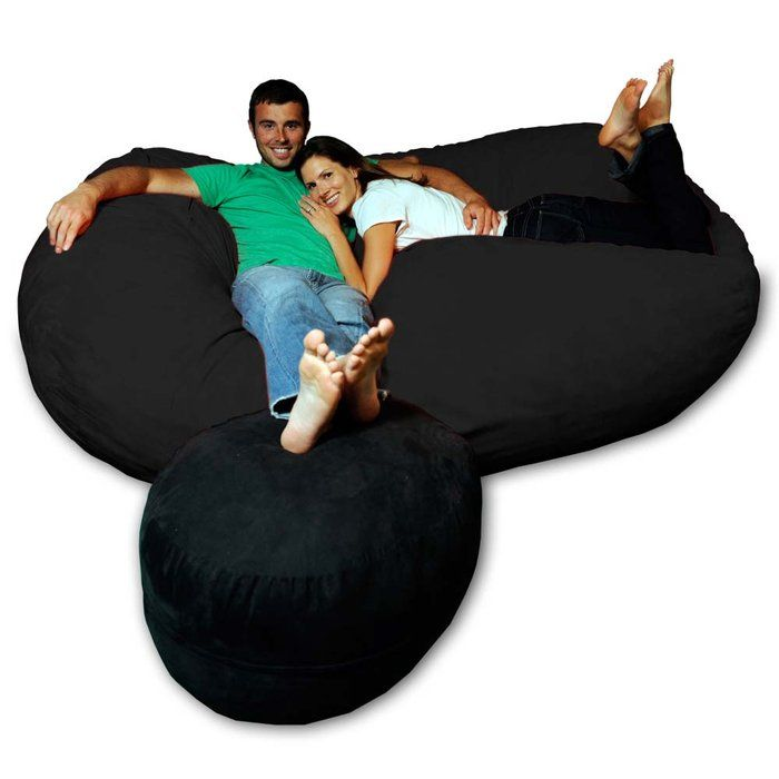 The ultimate in relaxation with this huge bean bag chair This – Personalized Bag Chairs