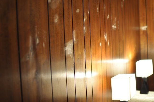How To Paint Wood Paneling This Is Our Dark Step