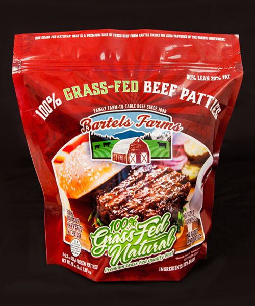Bartels Farms 100 Grass Fed Natural Beef Patties Winco Foods Beef Patty Beef
