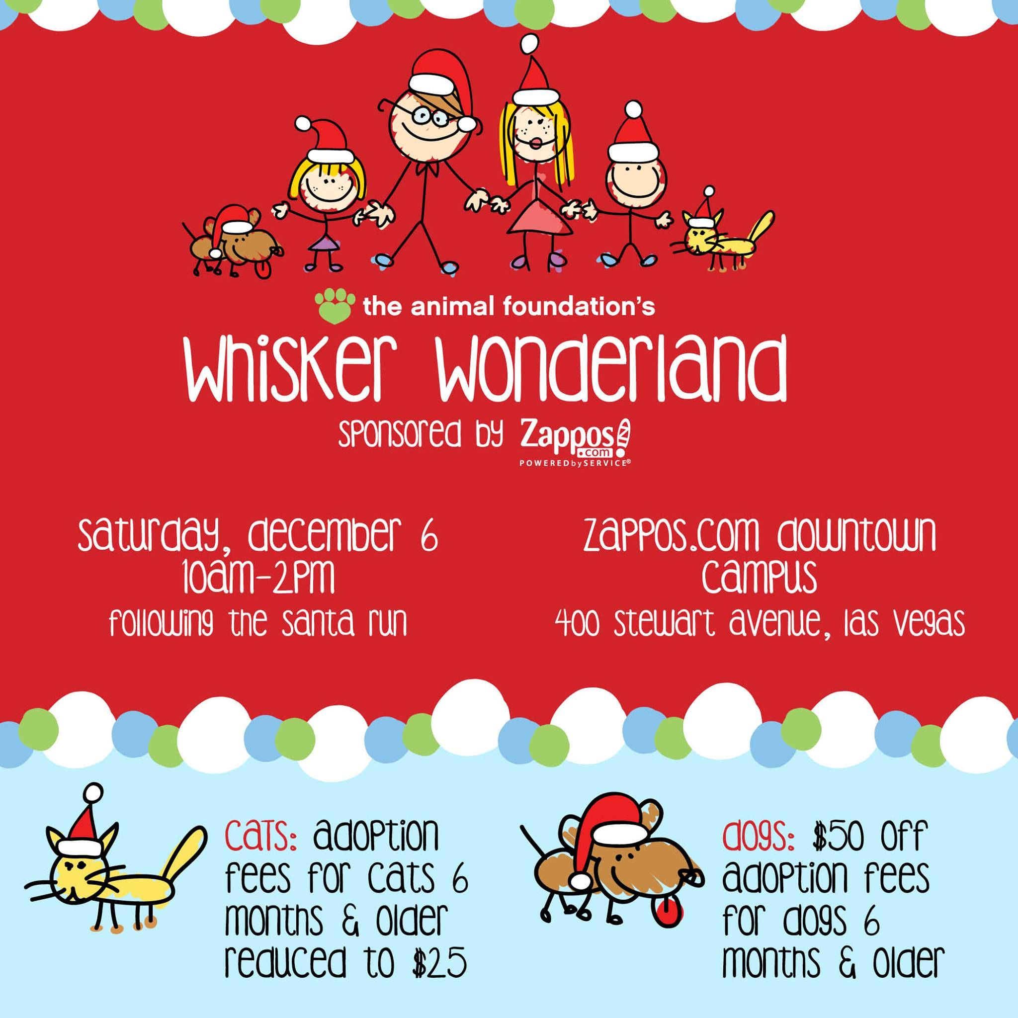 Join us tomorrow from 10am-2pm for Whisker Wonderland ...