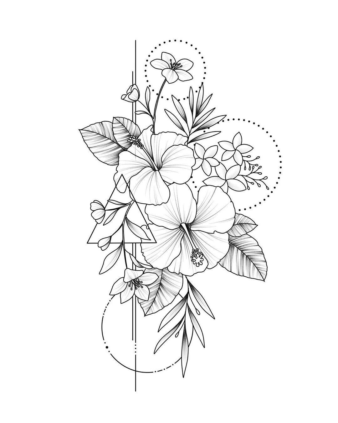 Mykinglist Com Blumen Tattoos Vorlagen Blumen