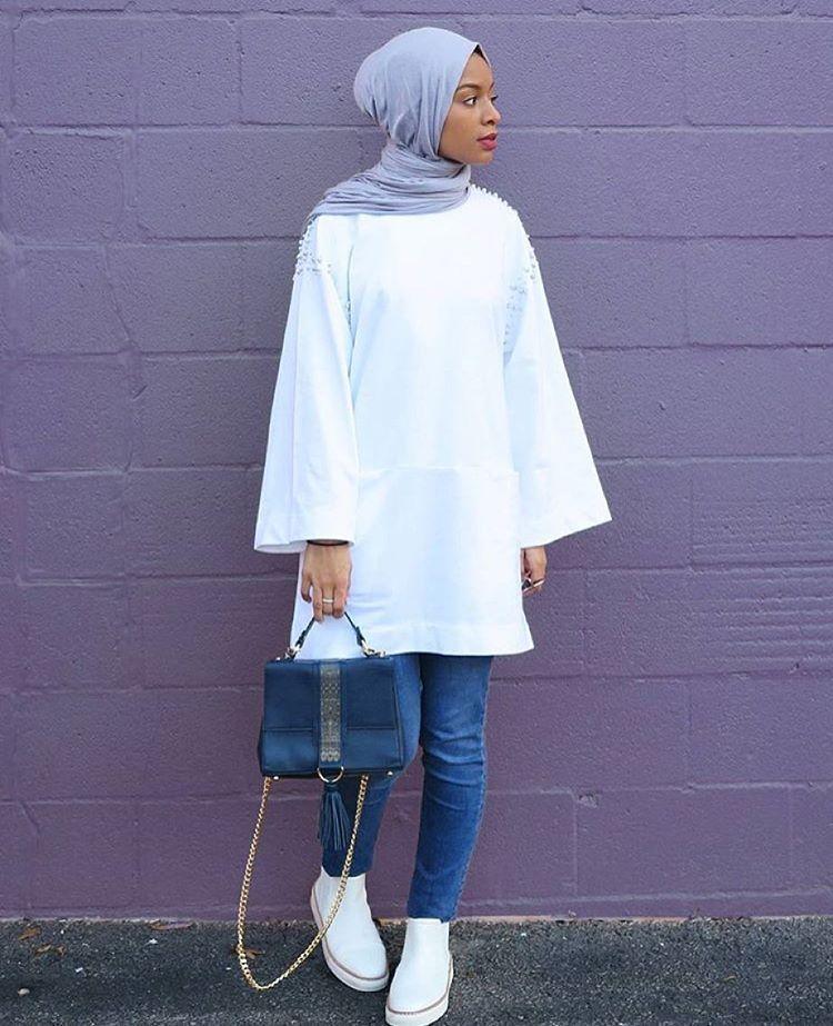 """Hijab Fashion on Instagram: """"@feeeeya @feeeeya @feeeeya #hijabfashion"""""""