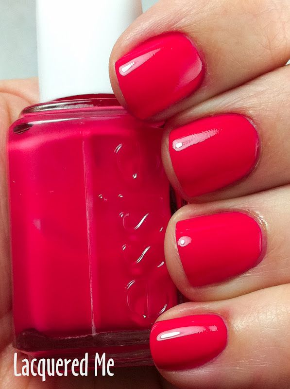 Essie Canyon Coral. Now this is a summer shade. | nails | Pinterest ...