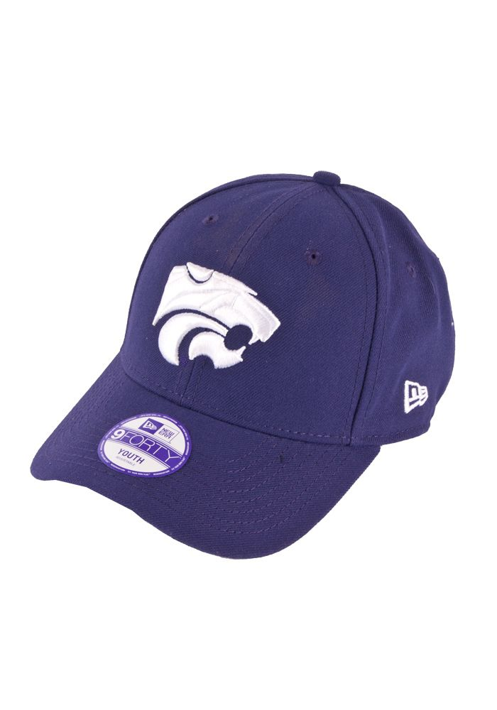 brand new cf627 8f0f1 K-State Youth Purple 9Forty Cap