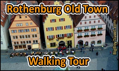 Rothenburg Free Walking Tour Map With Printable Do It Yourself