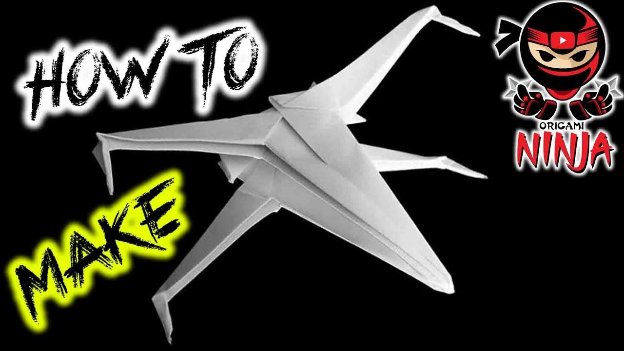 How to fold paper star wars xwing kids party pinterest paper