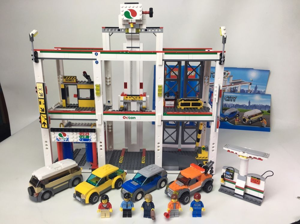 Lego City Garage 4207 Retired Set 100 Complete Lego Lego