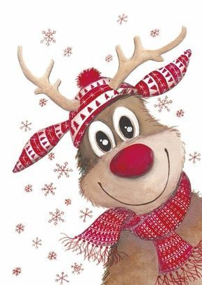 Sfondi Natalizi Renne.Renne De Noel Plus Natale Christmas Christmas Art E Christmas