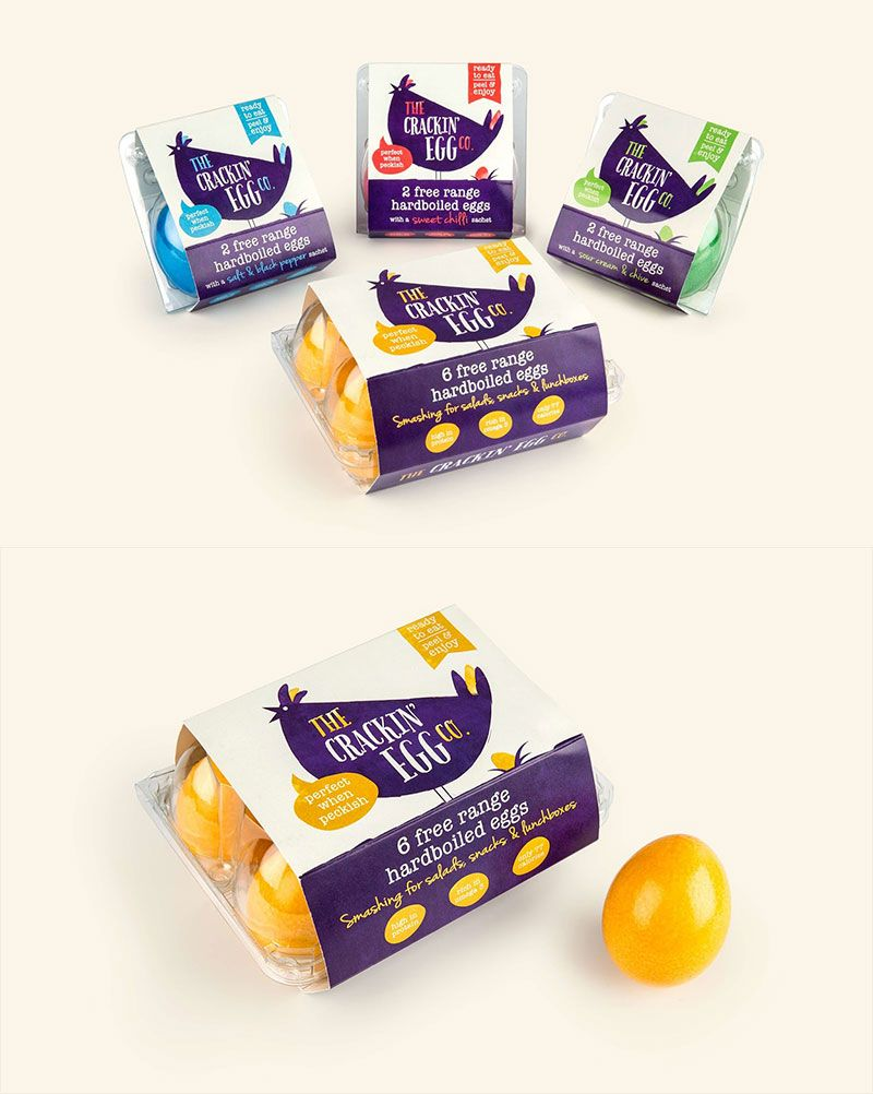 The Crackin' Egg Co. by Robot Food