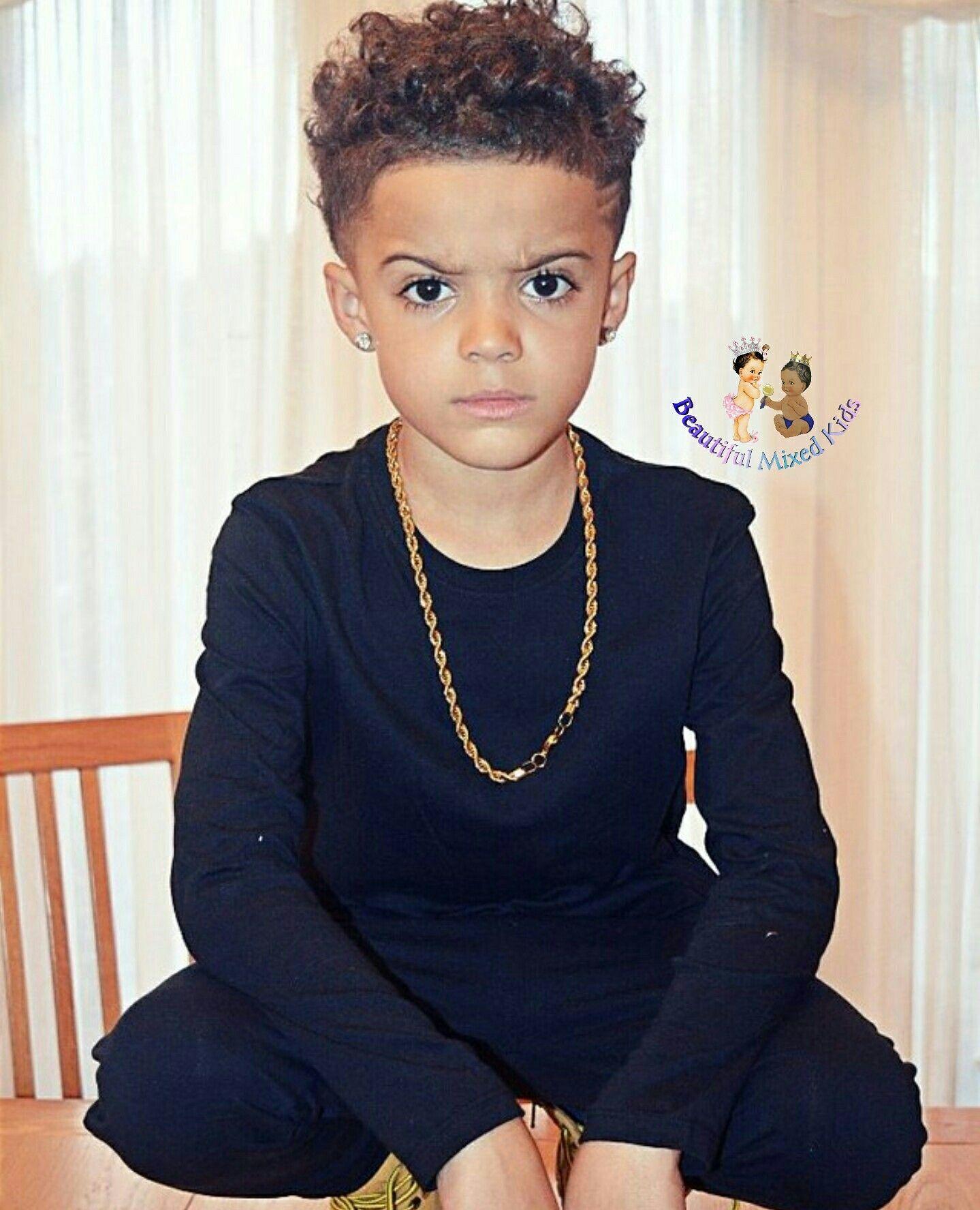 Jay 8 Years Jamaican Welsh English Kinder Haarschnitte Jungen Haarschnitt Haare Jungs