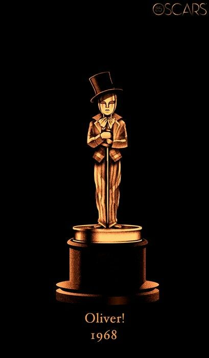 1968 BEST PICTURE WINNER: Oliver! | Oscar best picture ...