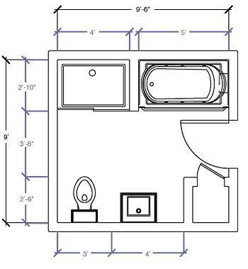 Bath Room Layout 7x10 32+ Super Ideas   Bathroom floor ...