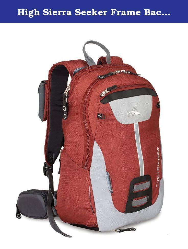 High Sierra Seeker Frame Backpack, Pomodoro/Ash/B… | Internal Frame ...
