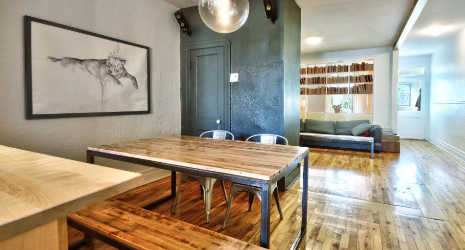 Appartement Condo A Vendre A Rosemont La Petite Patrie Montreal 14174880 Via Capitale Home Decor Dining Table Home