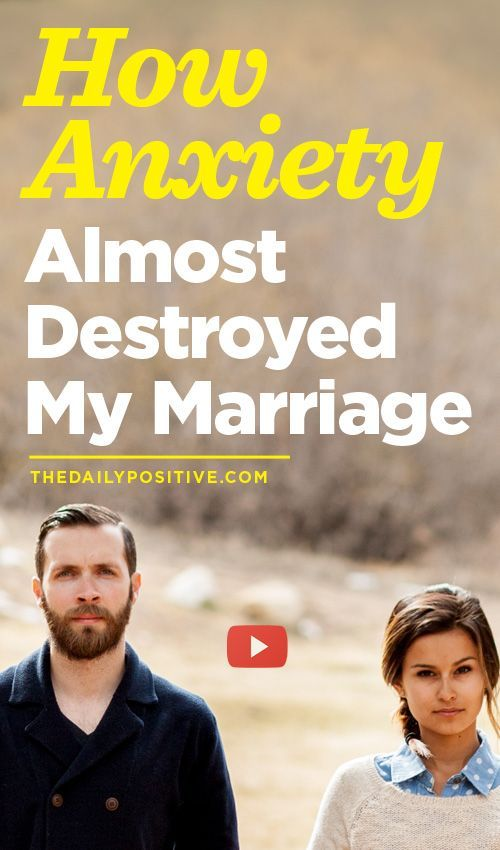 social anxiety and marriage
