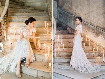 32 Whimsical And Ethereal Wedding Dresses For Fairy Tale Brides