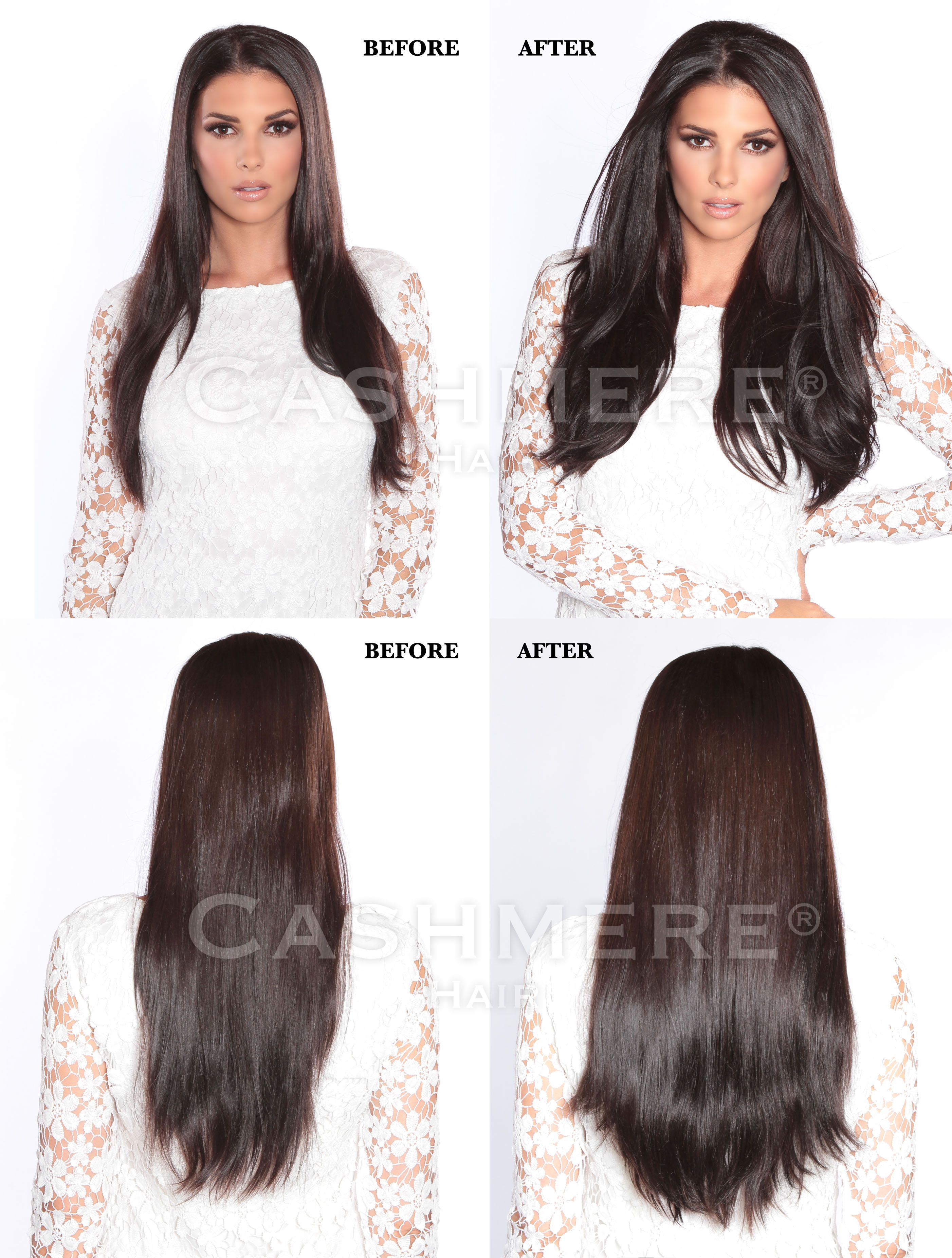 Cashmere Hair Before And After Reviews Amazing Hair Extensions I
