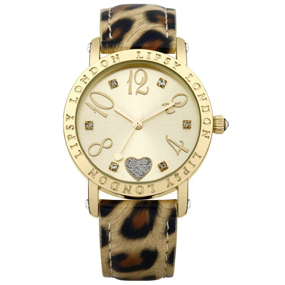 Lipsy animal strap lp cheapest lipsy leather watch uk animal