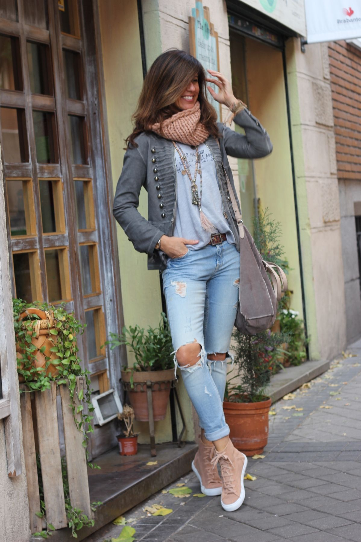 lovely outfit vaquero casual mujer men