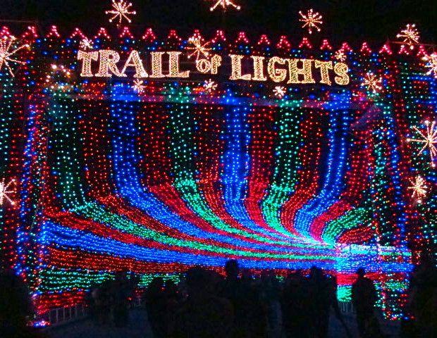 20 Insane Christmas Light Displays Light Trails Park Trails Zilker Park