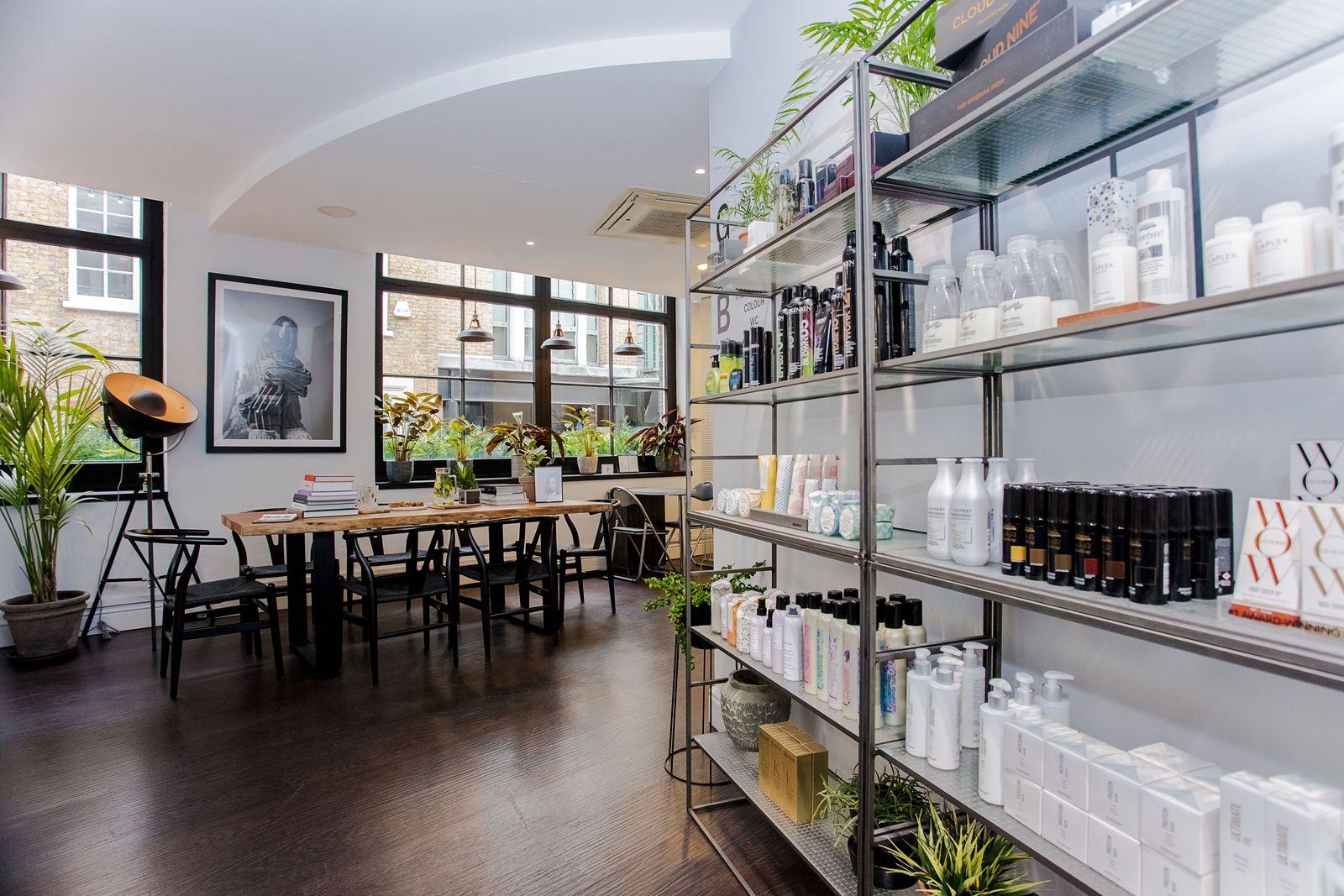 The Best London Hair Salons London Hair Salon Hair Salon Interior Salon London