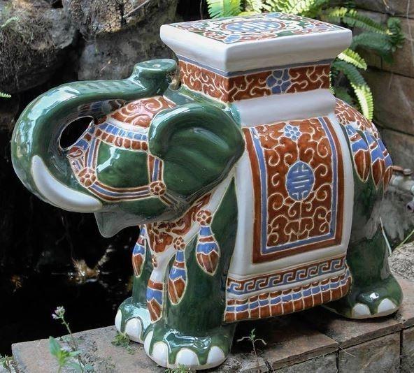 Miraculous Details About Mosaic Garden Stool Seat Accent End Table Spiritservingveterans Wood Chair Design Ideas Spiritservingveteransorg