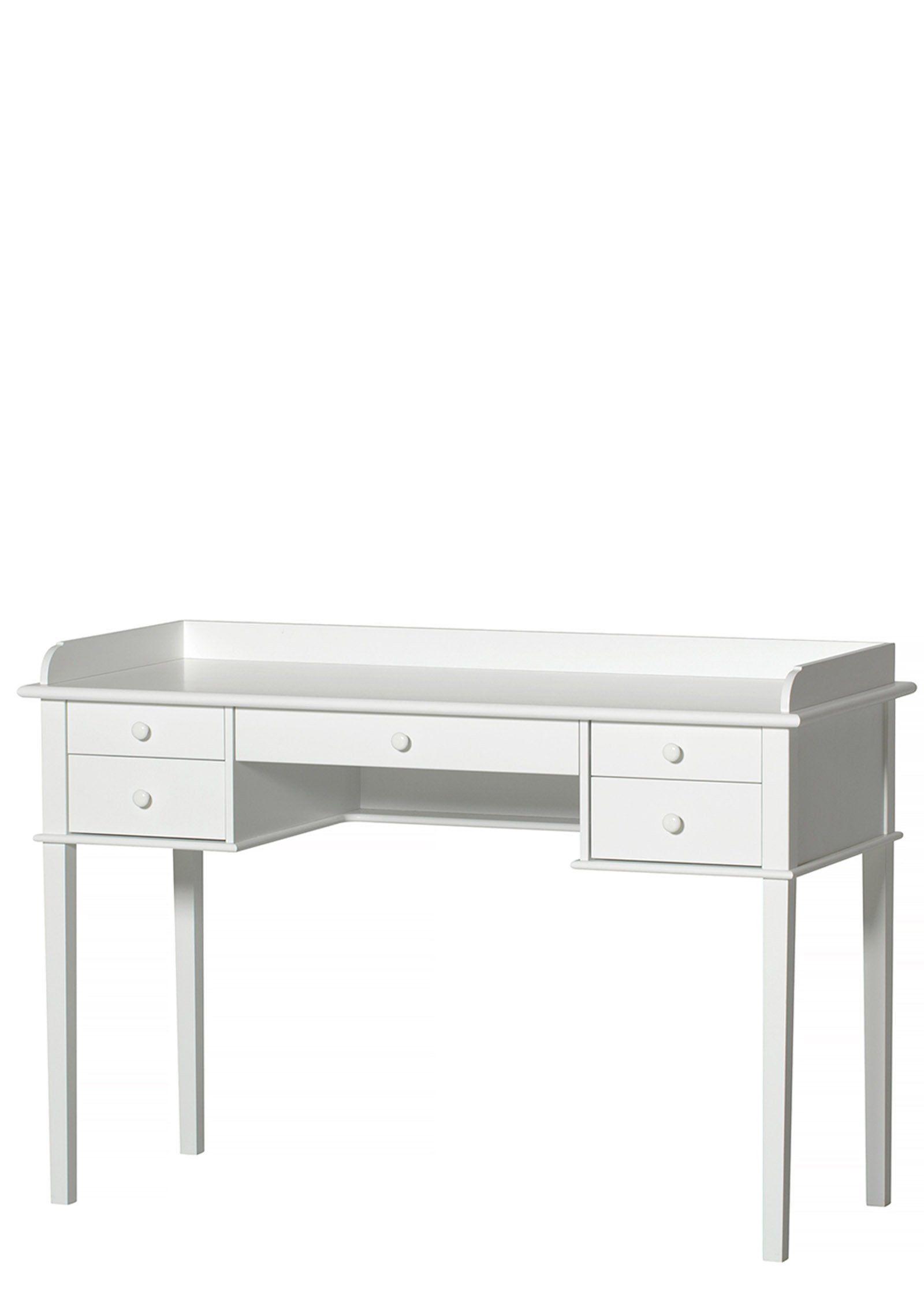 101+ 'Seaside' Schreibtisch weiß