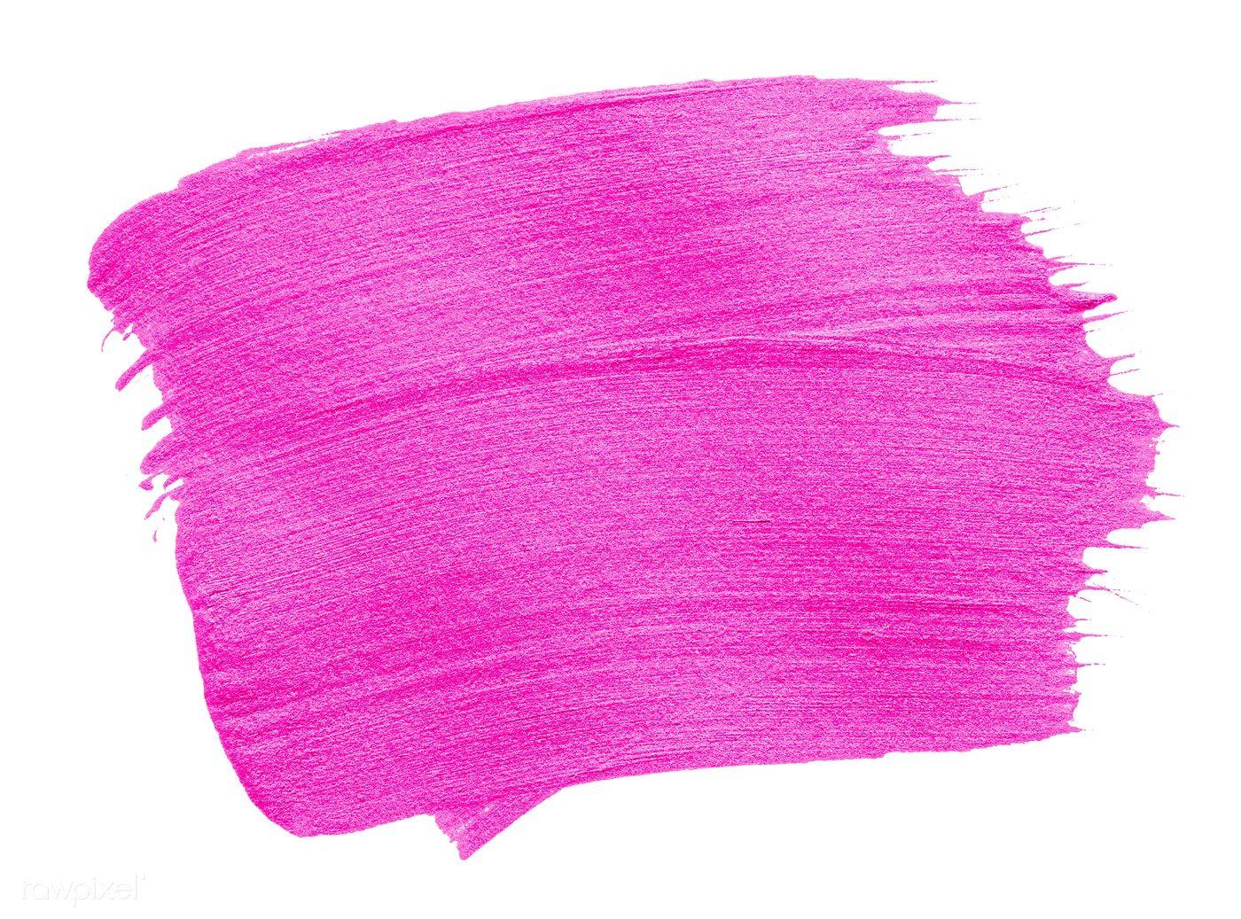 Neon Pink Brush Stroke Background Free Image By Rawpixel Com Pink Brushes Brush Strokes Neon Pink