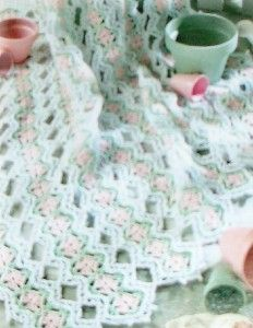 CROCHET PATTERN AFGHAN MILE A MINUTE Original Patterns ...