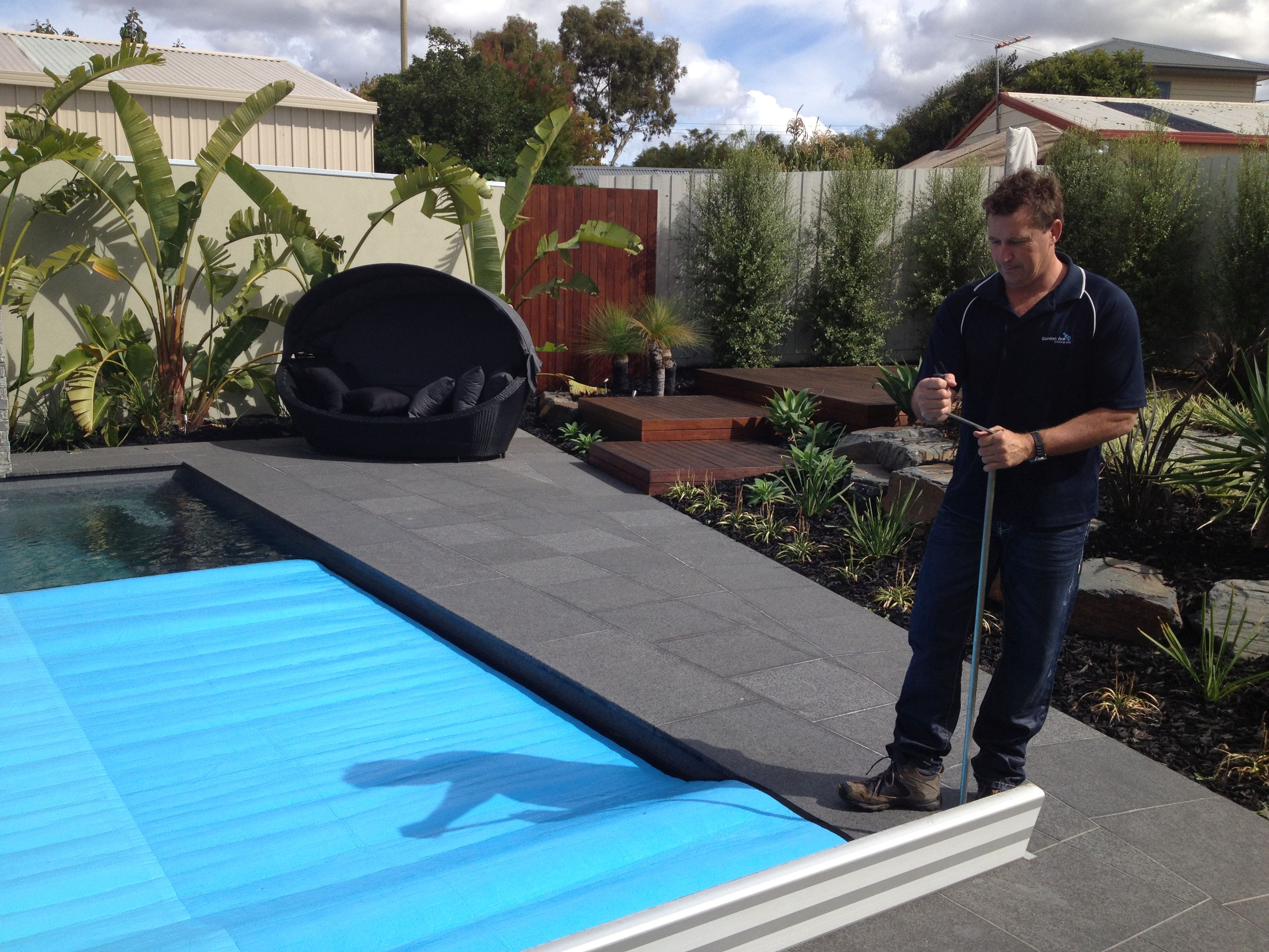 Downunder Hidden Swimming Pool Cover Rollers Everyone