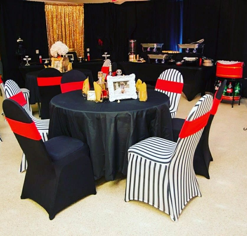 Red Black White And Gold Party Theme White Party Theme Gold