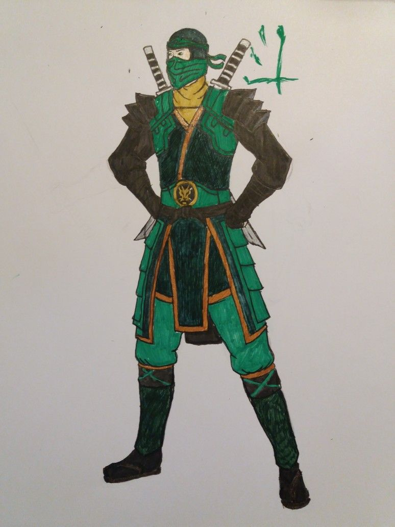 Ninjago: Fusion suit Lloyd (The ninjas' outfits are called