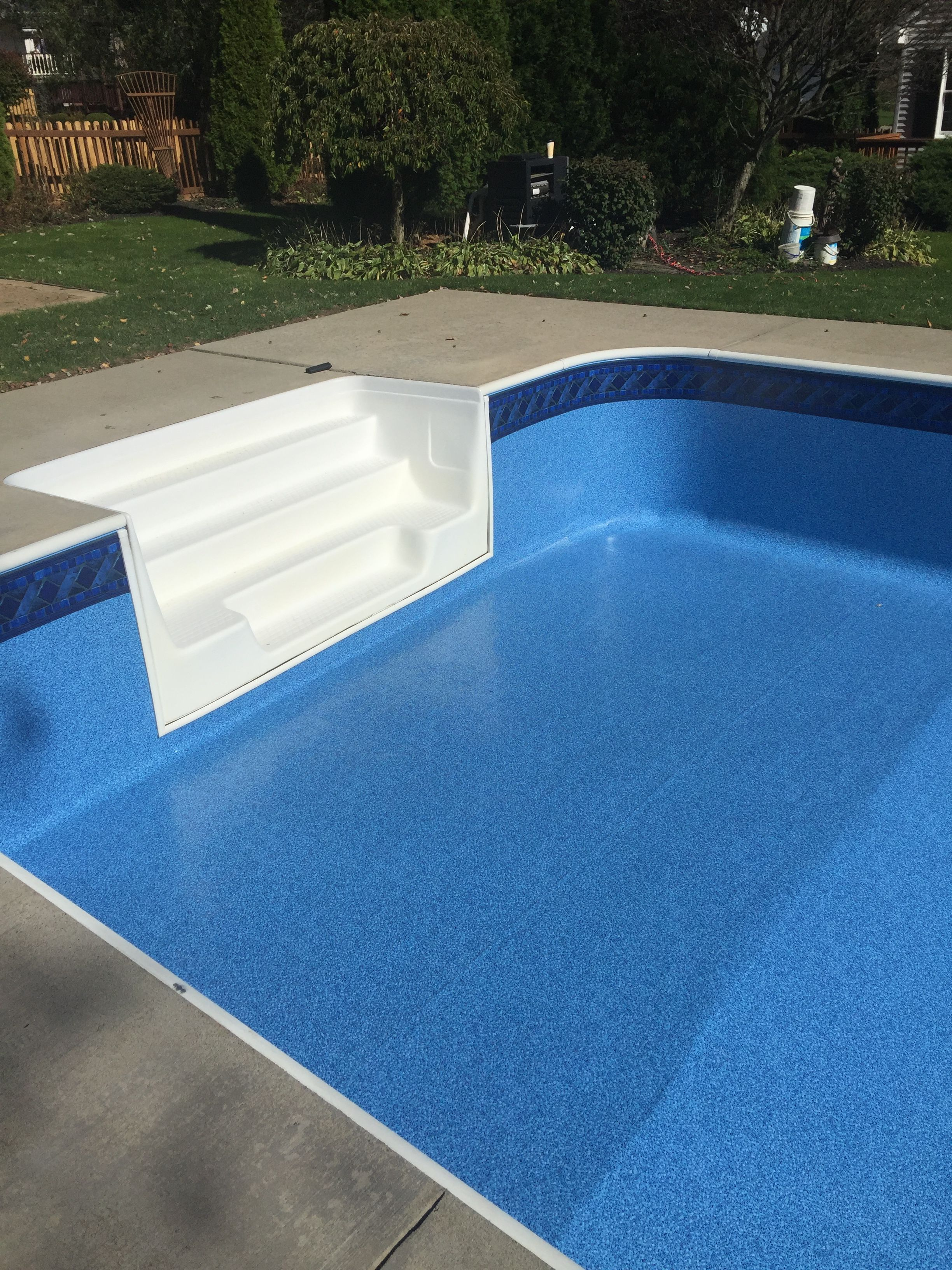 GLI pool liner Marco Island with blue crystal | Swimming pools to ...