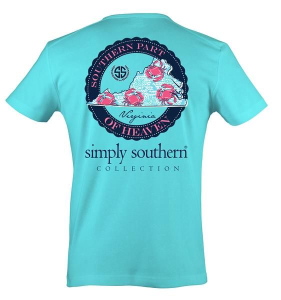 e47a8be4 Simply Southern Virginia Heaven T-Shirt | Simply Southern Shirts in ...
