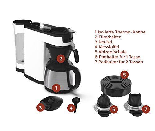 Senseo HD7892/00 Switch 2 In 1 Kaffeemaschine Für