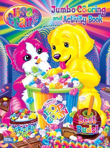 lisa frank jumbo coloring activity book best buds by modern publishing a division of - Publishing A Coloring Book