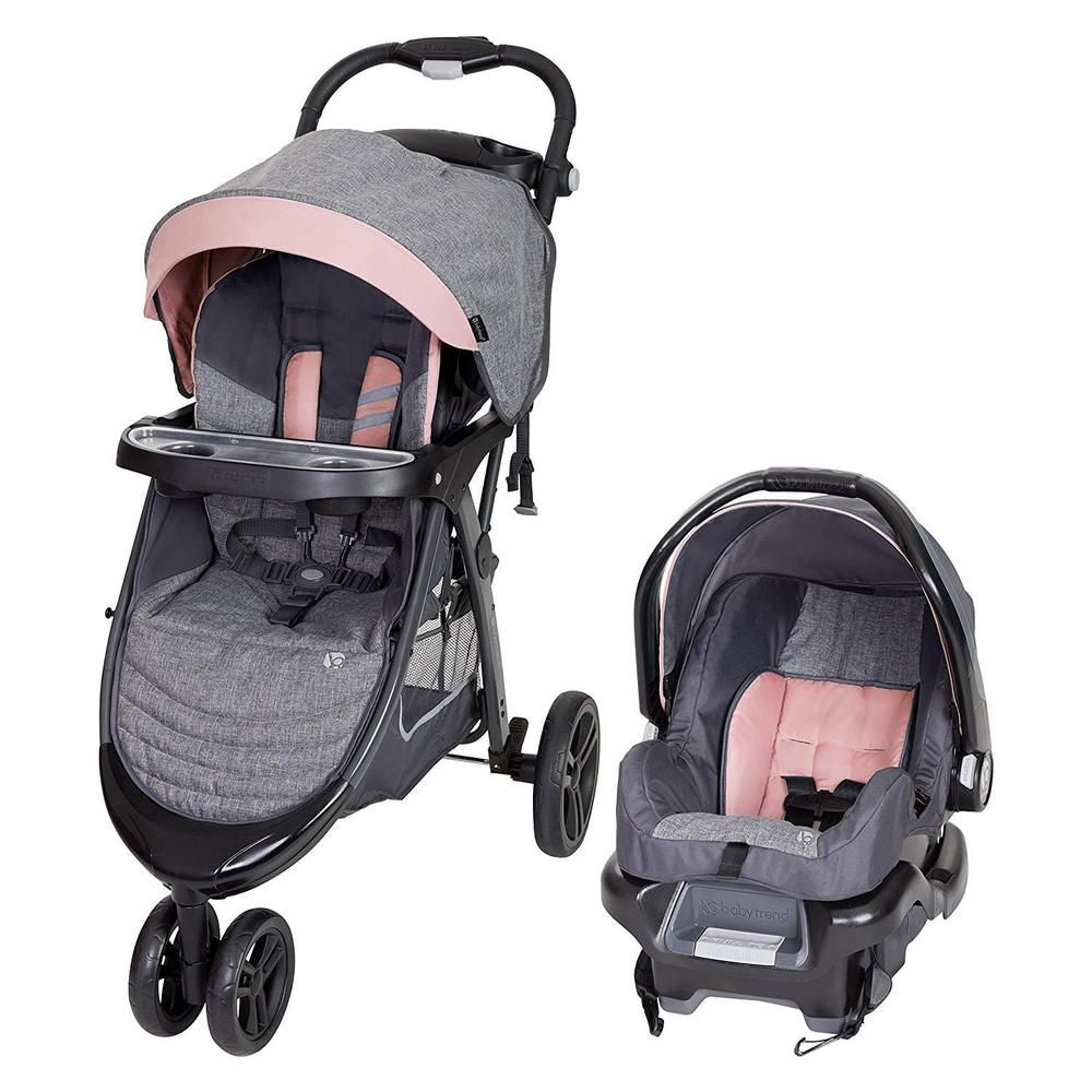 Baby Car Seat And Stroller Set Infant Girls Travel System
