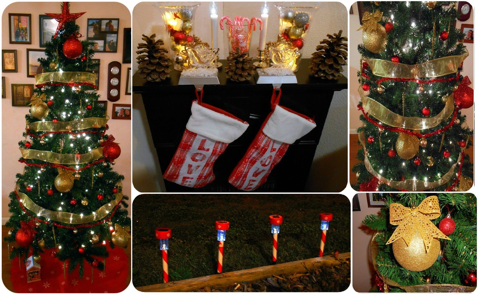 dollar tree christmas decor ideas dollar christmas tree christmas mantel jpg 1600x986 dollar store holiday decorating - Dollar Tree Christmas Decorating Ideas