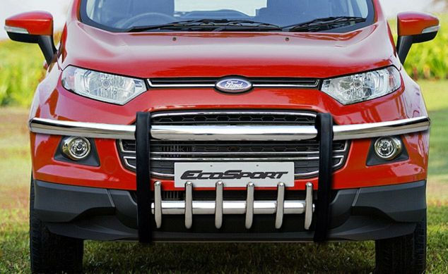 Goldsun Design Evolve Abs Front Guard Black For Ford Eco Sports 2 Ford Ecosport Car Accessories Ford