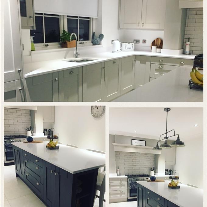 Best Cornforth White And Stiffkey Blue Kitchen In 2019 640 x 480