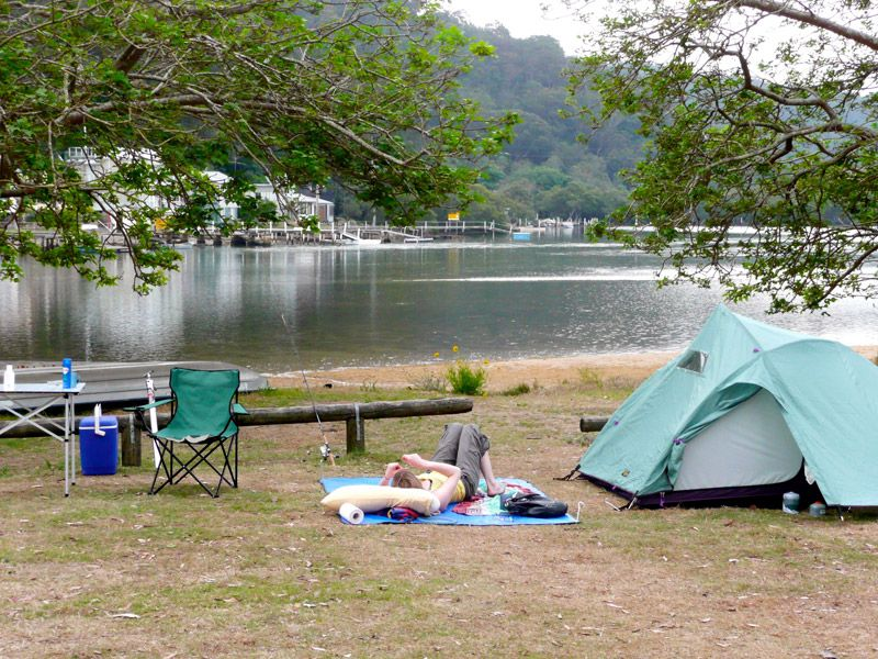 Patonga Camping Ground Nsw Camp Site Camping In North